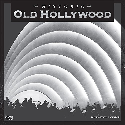 Old Hollywood 2019 - 18-Monatskalender: Original BrownTrout-Kalender [Mehrsprachig] [Kalender] por Browntrout