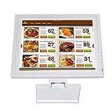 Khalia-Foto - Monitor TFT LCD touch screen da 15 pollici, HDMI/VGA/USB, per ristorante