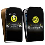 DeinDesign Samsung Galaxy S3 Mini Tasche Hülle Flip Case Borussia Dortmund BVB Stadion