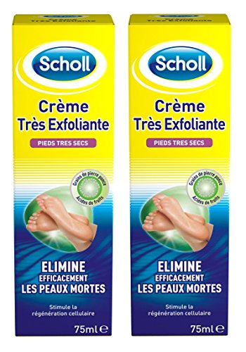 scholl-creme-tres-exfoliante-75-ml-lot-de-2