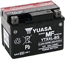 Bitte beachten: Serie: High-Performance - Wartungsfrei - 12V/3AH - Maße: 114x71x86 - inkl. Säurepack Seit Jahren ist Yuasa der Weltweit führende Batteriehersteller. So werden ca. 90% aller Motorräder ab Werk mit Yuasa Motorradbatterien ausgestattet. ...