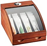 Bistrotea Tbar Mini mit 16 tpods: Earl Grey, Lemon Grass, Fruit Berry, Herbs und Honey, 1er Pack (1...