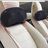 ZeroVida Coussin de Massage Shiastu Masseur Chauffant 3D Pétrissage 4 Têtes de Massage pour Dos/Cou/Cervical/Nuque/Epaules/Abdomen/Ventre/Jambes Bureau Domicile Voiture Housse Douce en Velours - 6