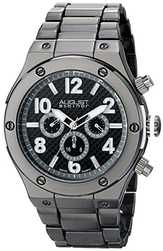 Montre bracelet - Homme - AUGUST STEINER - AS8126BK
