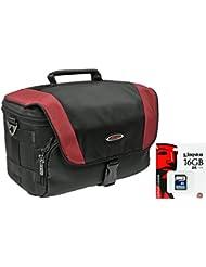 Cámara de fotos funda Xtreme M Set 16GB SD tarjeta para Nikon D7200D600D500D5500D5300D3300D3200