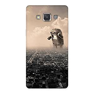 Stylish Destroy City Back Case Cover for Galaxy Grand 3