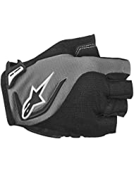 Alpinestars Pro - Guantes de ciclismo, tamaño XS, color gris oscuro / negro