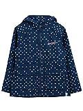 Animal Dark Navy Mini Bryndley Girls Water Resistant Jacket
