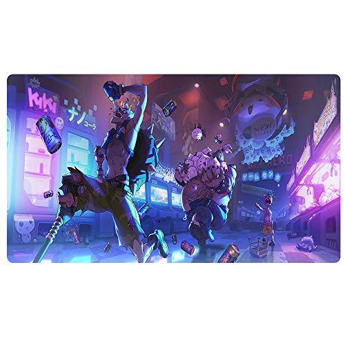 TEMOR Alfombrilla ratón Grande Alfombrilla Gaming