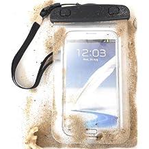 """PRESKIN - Wasserfeste Taschen bis 5,7 """", 4,5 """", 8,0 """" oder 10,1 """" Zoll Display, Wasserdichte Smartphone / Tablet Wasser Schutzhülle IPX 8 zertifiziert, Unterwasser Handy / PC Hülle mit Touchscreen Funktion wie Schutzfolie, Unterwasserfoto - Displayfolie Waterproof - water resistant phone Beachbag / tablet bag / pouch / case / cover / beach bag / snow bag für ----------------------- Samsung Galaxy S6 edge S5 mini S4 mini S III Neo S3 mini Tab 4 3 Pro A Note ..., Motorola Moto G 2. E 2 . Moto X M2 E1 ..., Nokia Lumia 630 640 930 XL X ..., LG L Bello L90 L70 G2 mini G3 G4 ..., Huawei P8 lite, Ascend G6 Y330 P7 mini Y550 Y530 ..., Apple iPhone 6 plus 5S 5C 5 4S 4 ..., HTC Desire 500 510 One S X M7 M8 M9 mini ..., Sony Xperia Z1 Z3 Compact M4 M2 E1 Z Ultra ..., Lenovo , Google Nexus , Microsoft , Asus Pad , Intenso , Acer , Apple iPad 1 2 3 Air mini, WIFI und viele mehr ..."""