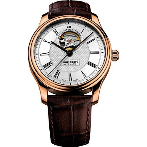 Louis Erard Heritage Reloj de hombre automático 40mm 60267PR41.BRC03