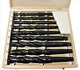 HSS Spiralbohrer/bohrer 9 METALLBOHRER MIT Morsekegel Morsekon MK2 MK3 14,5-30mm