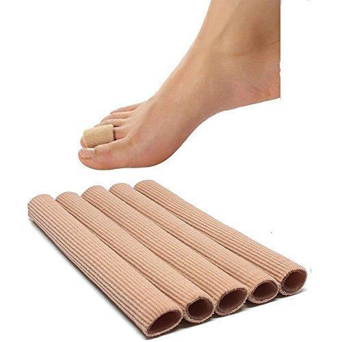 5 Stück 1.5*15cm Gel-Schlauchbandagen Finger Zehenschutz zum Zuschneiden, schmerzlindernd,zur Vermeidung von Blasen H¨¹hneraugen -