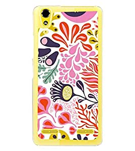 ifasho Designer Back Case Cover for Lenovo A6000 :: Lenovo A6000 Plus :: Lenovo A6000+ (Tribal Design Haerbin African Pali)