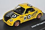 J-Collection Daihatsu Copen D-Sport Gelb Racing 1/43 Modell Auto mit individiuellem...