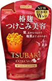 Tsubaki Extra Moist Shampoo Refill Pack 380ml Red 2015 Spring Edition Japan New