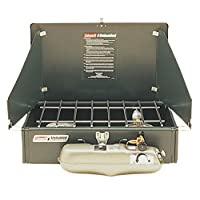 Coleman Unleaded Double Burner Fuel Stove - Green 1