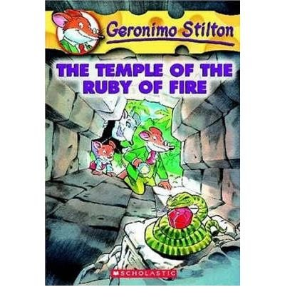 [(The Temple of the Ruby of Fire )] [Author: Geronimo Stilton] [Dec-2004]