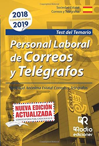 Personal Laboral de Correos y Telegrafos. Test por Vv.Aa