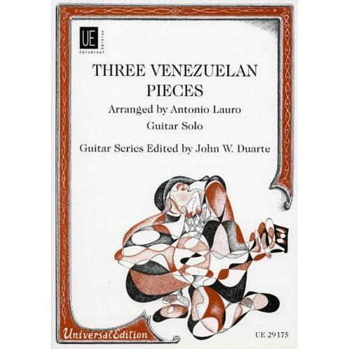 Danses Vénézuéliennes (3) - Guitare