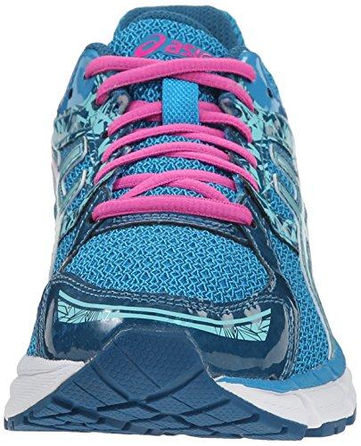 Asics Gel Excite 3 Synthétique Chaussure de Course Turquoise-Aqua Splash-Pink Glow