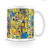 Die Simpsons Tasse mit allen Charakteren / Kaffeetasse aus Keramik
