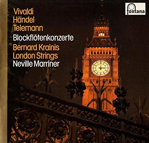 Vivaldi, Händel, Telemann Blockflötenkonzerte