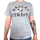 New Era Ne96449Fa16 Nfl College Tee Dalcow - T-shirt-Linie Dallas Cowboys für Herren, Farbe Grau, Größe XXL