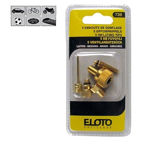 Embouts de gonflage laiton : Eloto