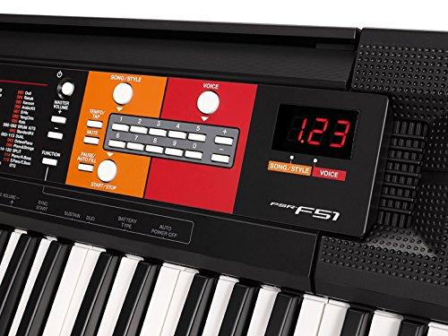 Yamaha PSR-F51 Keyboard - 2