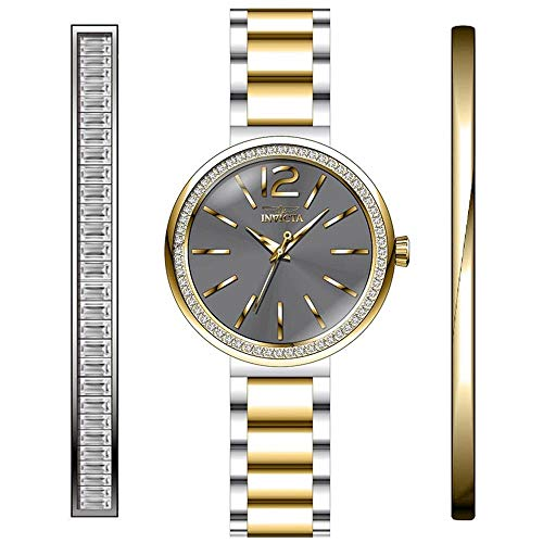 Invicta Angel Reloj de Mujer Cuarzo Correa y Caja de Acero dial Gris 29274
