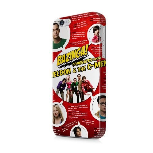 iPhone 6/6S (4.7 pouces) coque, Bretfly Nelson® The Hunger Games la série Plastique Snap-On coque Peau Cover pour iPhone 6/6S (4.7 pouces) KOOHOFD908114 THE BIG BANG THEORY - 027