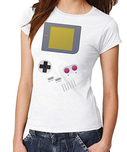 In Mario Kostüm Toad (-- Handheld -- Girls T-Shirt Weiss, Größe)