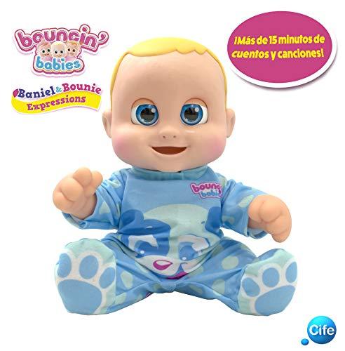 Boucin Babies Bouncin' Babies My Real Buddy (Expressions) BANIEL, (Cife 41657)