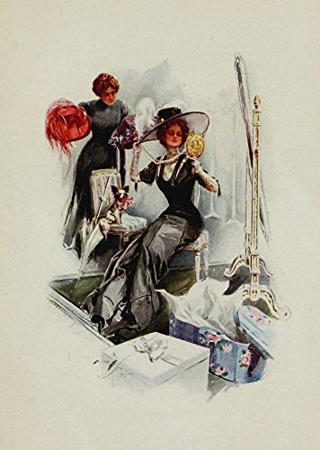 Harrison Fisher - American Girls in Miniature 1912 The American Girl in France Kunstdruck (45,72 x 60,96 cm) -