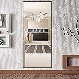 LDJ Wandmontierter Ganzkörperspiegel Home mit Halterung Bodenspiegel Bekleidungsgeschäft...