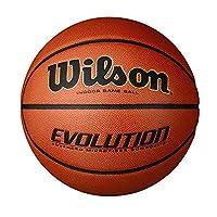 "(Official - 29.5"", Black) - Wilson Evolution Indoor Game Basketball"