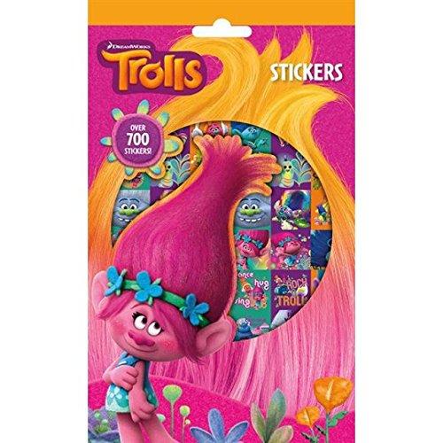 Preisvergleich Produktbild Dreamworks Trolle 700sortiert Aufkleber Kinder 'S PARTY Tasche Strumpffüller Geschenk
