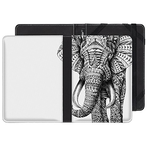 Funda para Kindle diseño Ornate Elephant