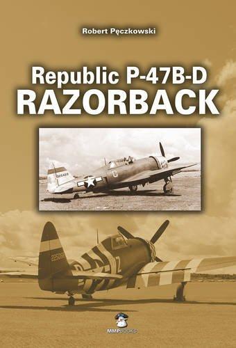 Republic P-47B-D Thunderbolt Razorback (Yellow)