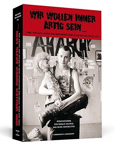 Punk Gesicht (Wir wollen immer artig sein: Punk, New Wave, HipHop und Independent-Szene in der DDR 1980-1990)