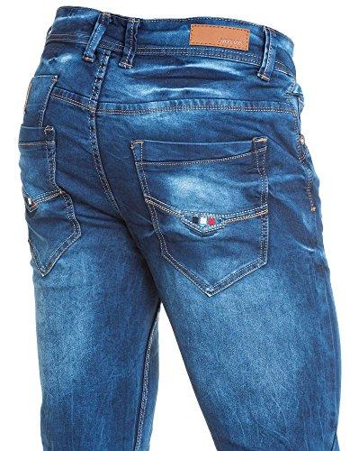 BLZ jeans - Jean droit bleu délavé coupe droite Bleu