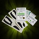 SensoryBoost Computer Gaming Maus Aufkleber (Schwarz) für Roccat Kone EMP Vergleich