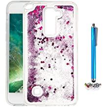 A9H Funda Transparente Dynamic Liquid Glitter Color Paillette Sand Quicksand arena movediza Star Back Cover Case para LG G4 Stylus2 LS775 shell -01HUA