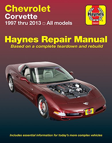 Chevrolet Corvette Automotive Repair Manual: 2007-13 (Haynes Repair Manual) por Haynes Publishing