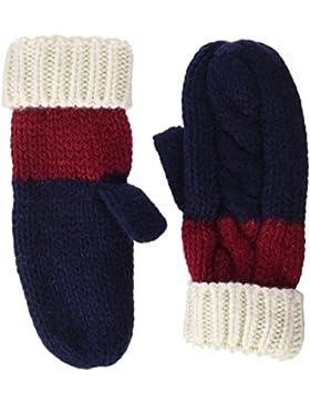 Tommy Hilfiger Damen Handschuhe Chunky Knitted Gloves, Blau (Tommy Navy 413), One size (Herstellergröße: OS)