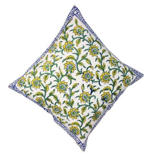 100% cotone indiano federe Standard cuscino coprire primavera Home Decor