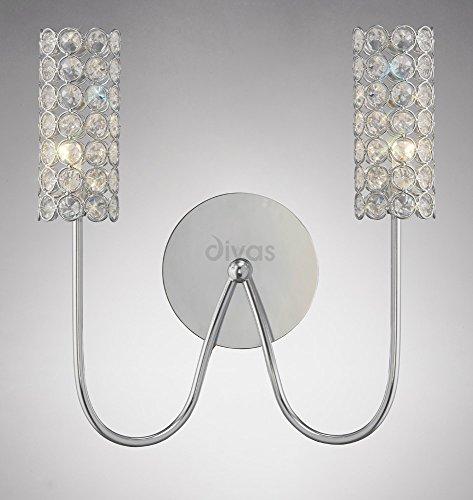 martina-lampada-da-parete-2-luci-cromo-lucido-cristallo
