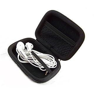 AUDIO123 Kopfhörer Ohrhörer Koffer Aufbewahrungsbox für MP3 / Ohrhörer von iPhone Sansung Snoy HTC Smartphone Zubehör Aufbewahrungskoffer in schwarz Nagelneu und hohe Qualität nicht die Kopfhörer in die Box