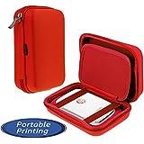 Navitech Étui rouge pour le HP Sprocket Photo